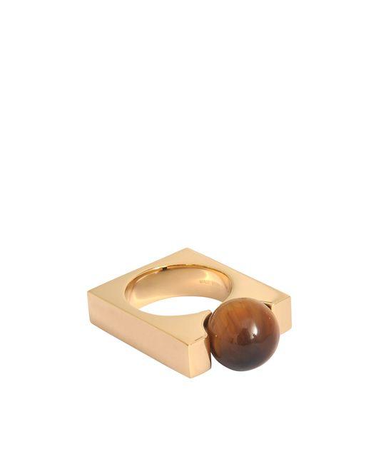 Chloé | Pink Square Darcey Tiger Eye Ring | Lyst
