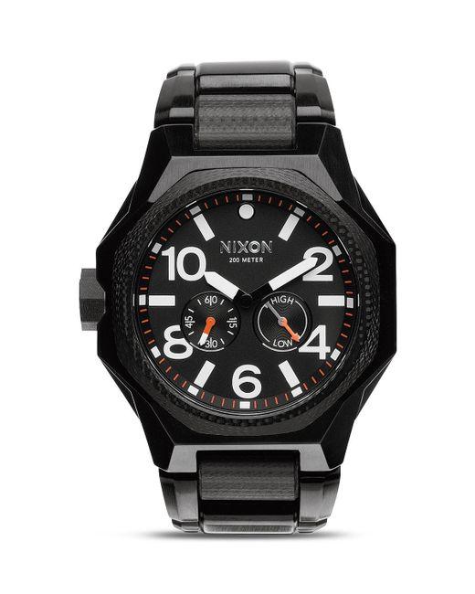 Nixon   Black The Tangent Tide Watch, 47mm for Men   Lyst