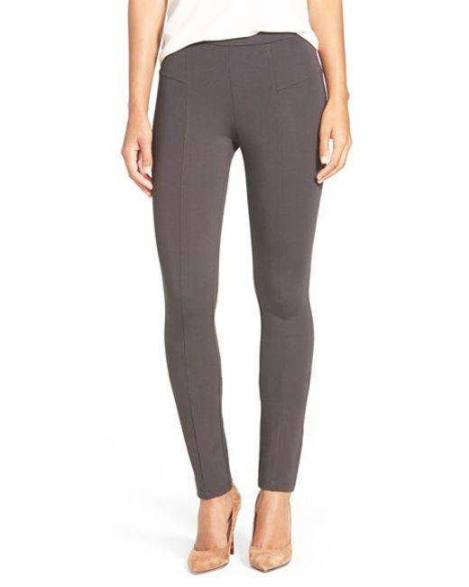 NIC+ZOE   Gray The Perfect Ponte Pants   Lyst