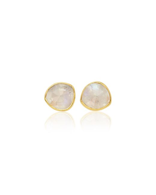 Monica Vinader | Pink Siren Stud Earrings | Lyst