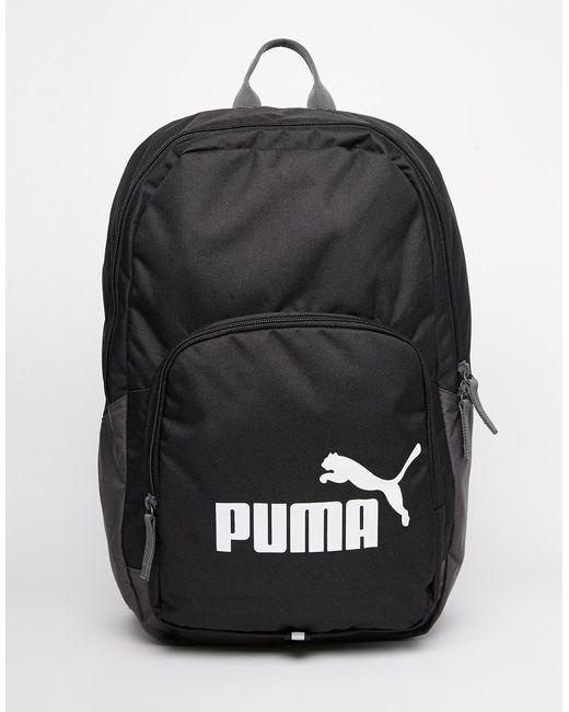 puma phase backpack in black for men lyst