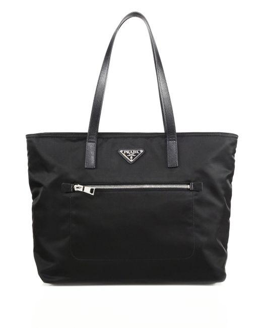 5bdf42482af5 Prada Nylon Shopping Bag With Zip (size) | Stanford Center for ...