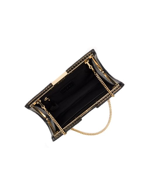 MILLY | Black Geo Frame Clutch | Lyst