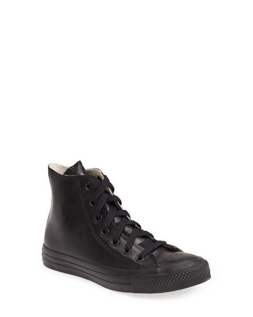 Converse | Black Chuck Taylor All Star Waterproof Rubber Rain Sneaker | Lyst