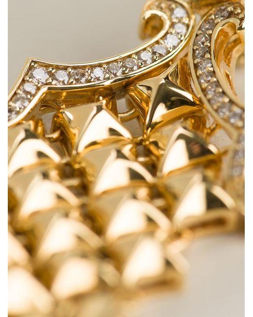 Stephen Webster | Metallic Chamfered Bale Dagger Diamond Earrings | Lyst