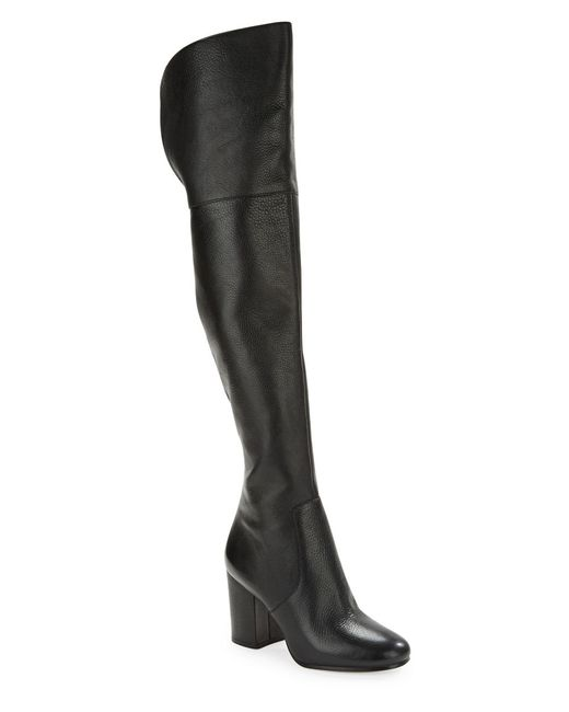 via spiga beline leather boots in black save 31 lyst