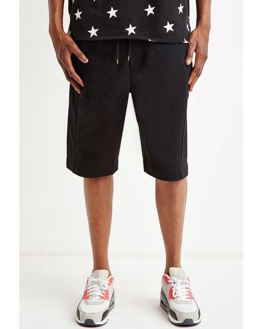 Forever 21 | Black Zip-pocket Sweatshorts for Men | Lyst
