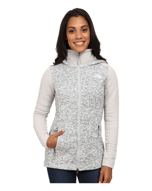 The North Face | Gray Indi Insulated Hoodie | Lyst