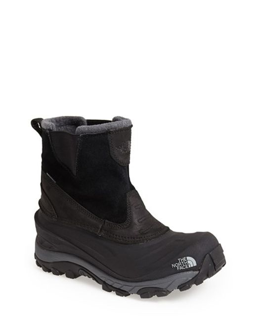 The North Face | Black 'chilkat Ii' Waterproof Snow Boot for Men | Lyst