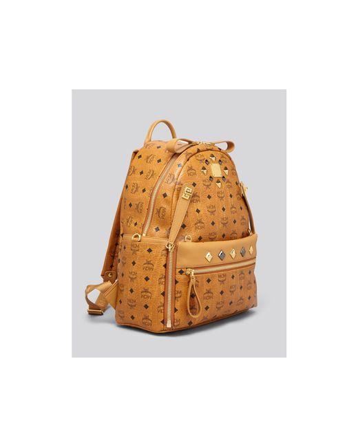 Mcm Side Stud Baby Stark Backpack In Brown Save 54 Lyst