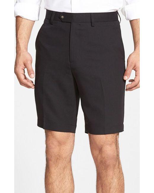 Cutter & Buck | Black Microfiber Twill Shorts for Men | Lyst