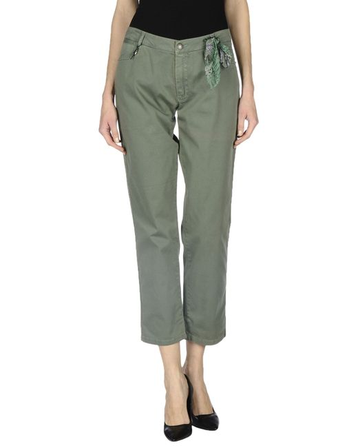 Ermanno Scervino | Green Casual Pants | Lyst