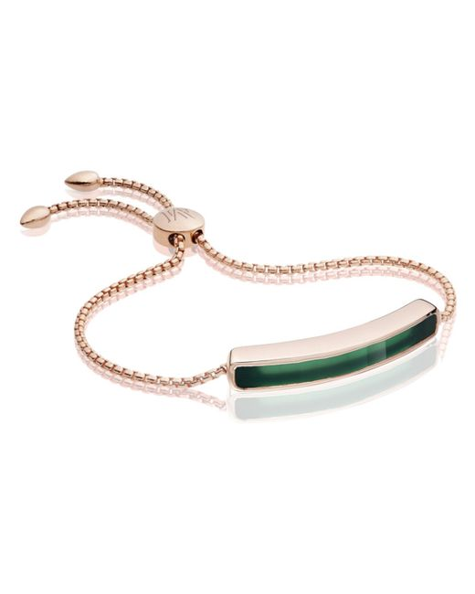Monica Vinader | Green Baja Bracelet W Grn Onyx | Lyst