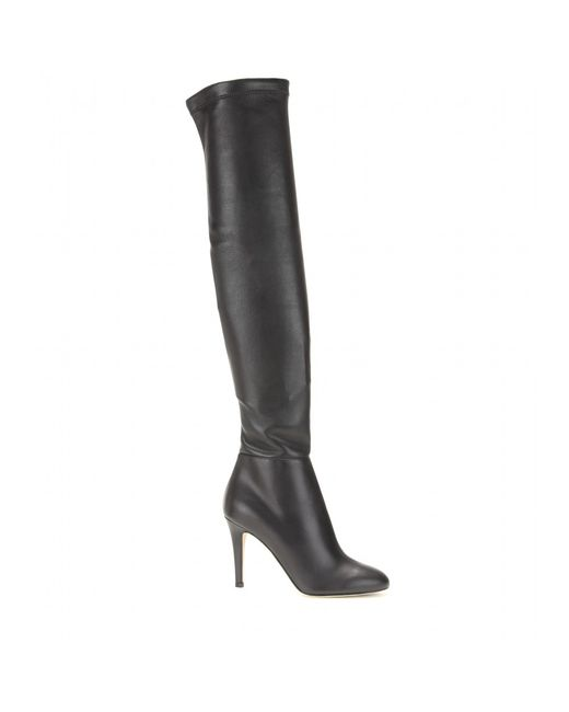Jimmy Choo | Black Toni Leather Over-The-Knee Boots | Lyst