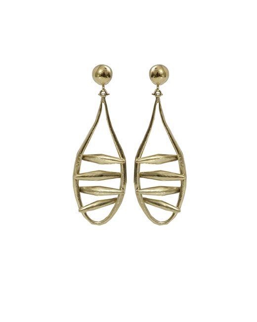 Vaubel | Metallic Open Wire Drop Earrings | Lyst