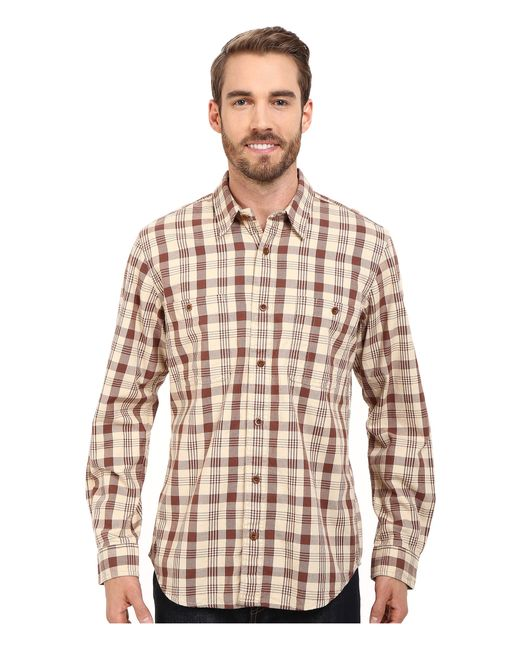 filson wildwood shirt in brown for men lyst. Black Bedroom Furniture Sets. Home Design Ideas