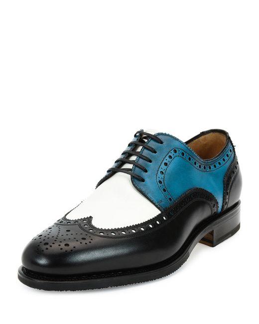 Salvatore Ferragamo Tramezza Mens Shoes
