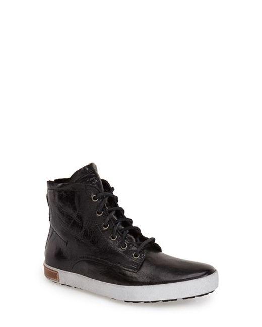 Blackstone | Black 'il65' High Top Sneaker | Lyst