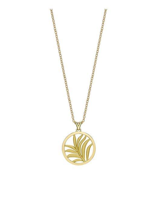 Theo Fennell | Metallic Small Palm Diamond Pendant | Lyst