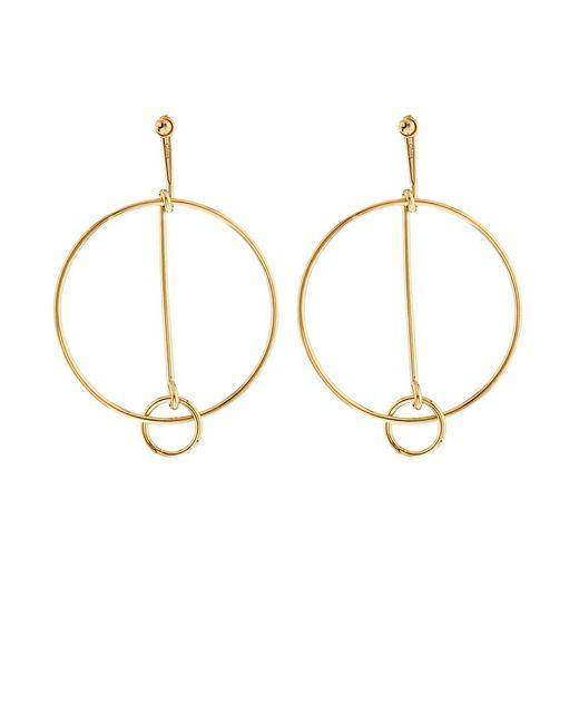 Chloé | Metallic Cate Hoop Clip-On Earrings | Lyst