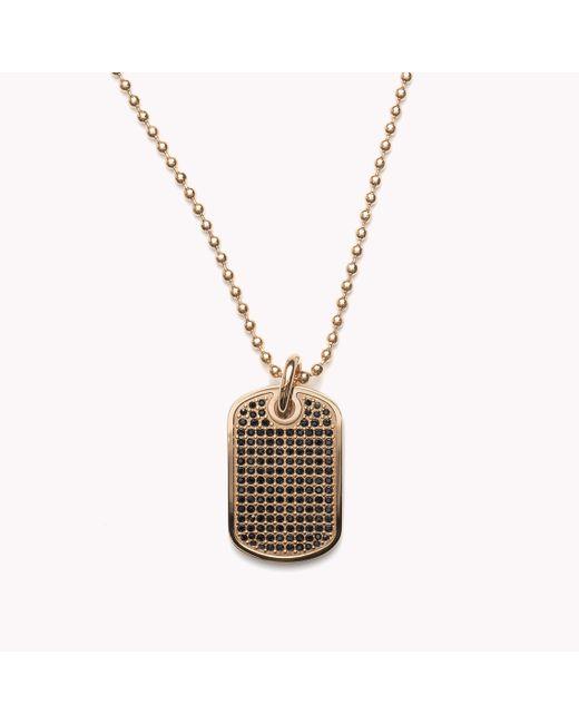 Tommy Hilfiger | Metallic Pendant Necklace | Lyst