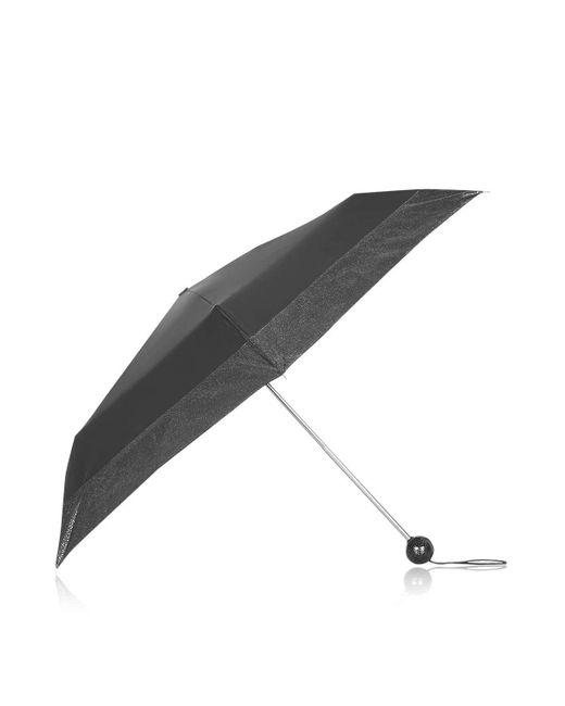 TOPSHOP   Black I Heart Umbrella   Lyst