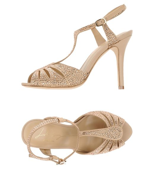 Lola Cruz | Pink Sandals | Lyst