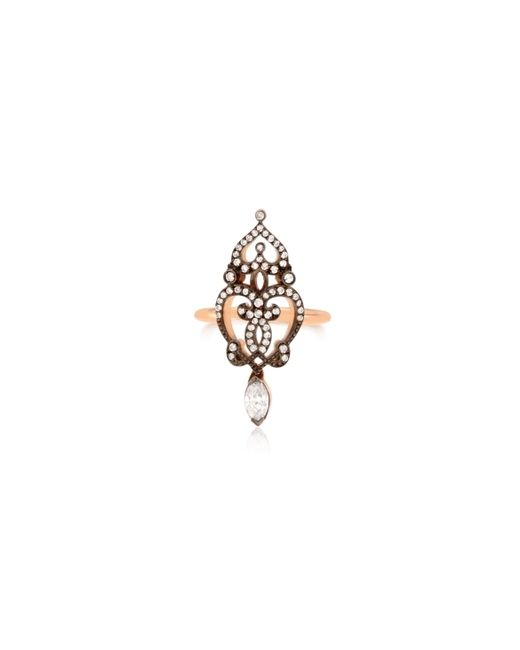 Sabine G | Pink Relic Marquise Ring | Lyst