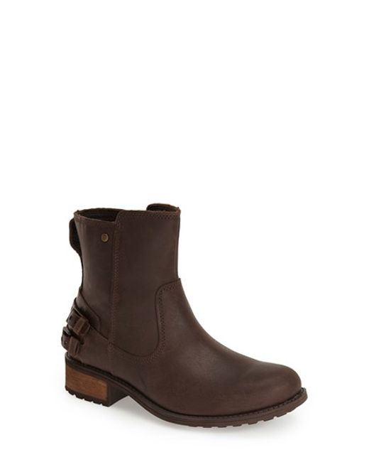 Ugg | Brown Ugg 'orion' Short Boot | Lyst
