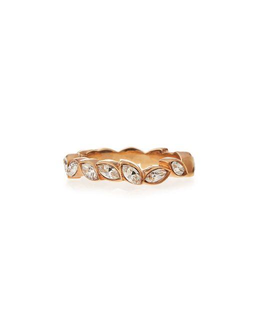 Vita Fede | Metallic Marquise Halo Crystal Ring | Lyst