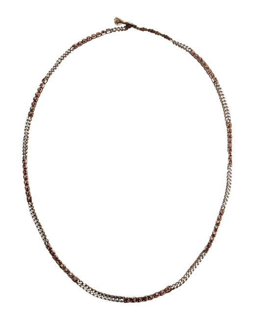 Chan Luu | Brown Necklace | Lyst