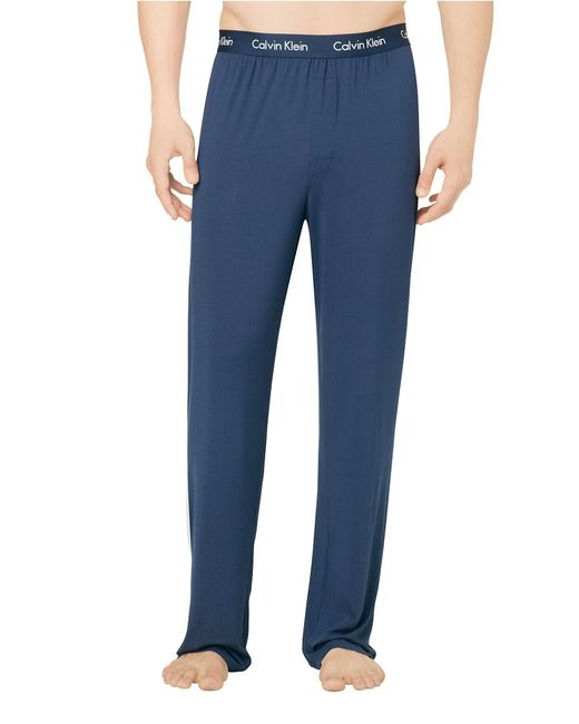Calvin Klein | Blue Logo Lounge Pants for Men | Lyst