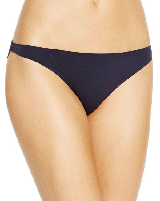 Stella McCartney   Blue Smooth & Lace Bikini #s30-250   Lyst