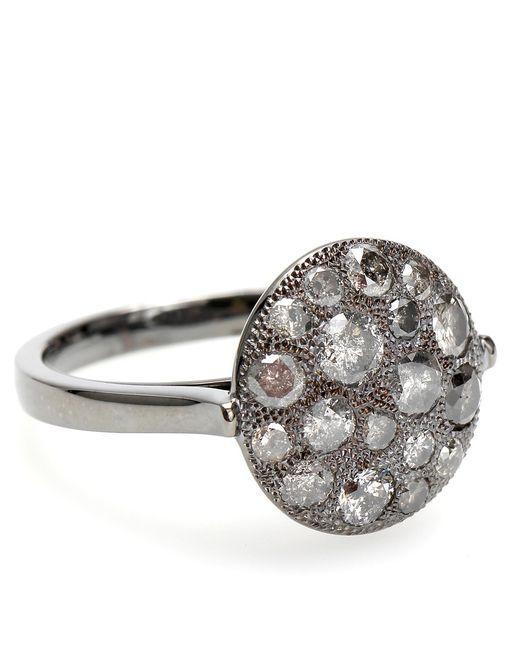 Roberto Marroni   Metallic Mora 18kt Oxidized White Gold And Grey Diamond Ring   Lyst