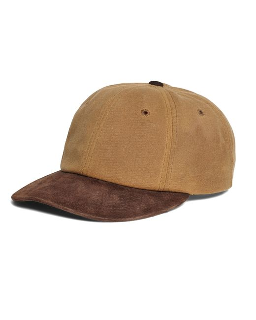 Brooks Brothers | Brown Waxed Canvas Baseball Hat for Men | Lyst