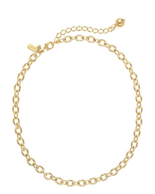 Kate Spade | Metallic Charm Link Necklace | Lyst
