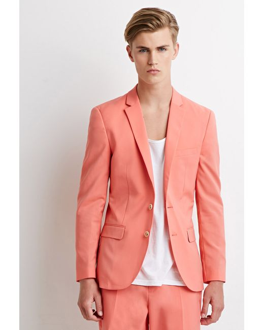 Forever 21 | Orange Two-button Blazer for Men | Lyst