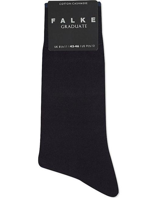Falke | Blue Graduate Cotton-cashmere Socks for Men | Lyst