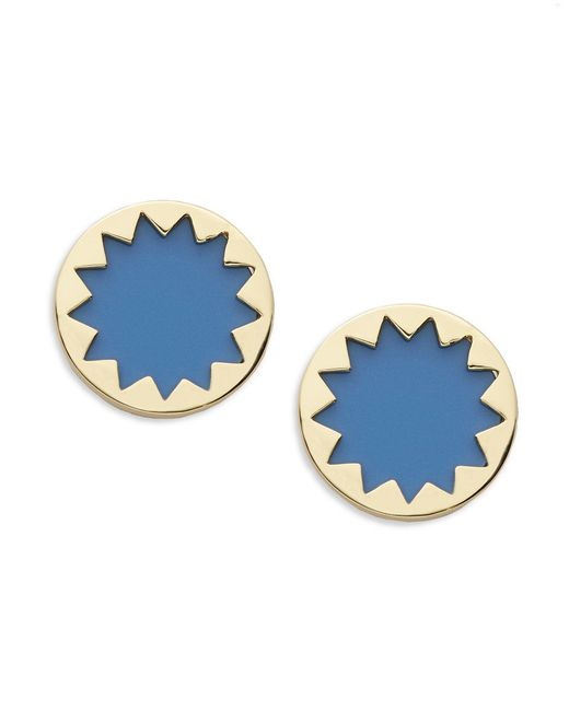 House of Harlow 1960 | Blue Sunburst Stud Earrings | Lyst