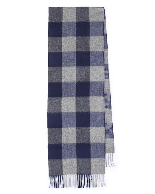Begg & Co | Gray Vigo Tartan Wool And Cashmere-blend Scarf for Men | Lyst