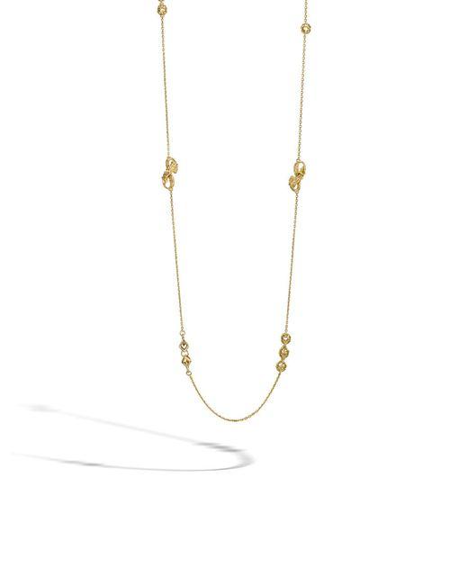 John Hardy | Metallic Legends Naga Sautoir Necklace | Lyst