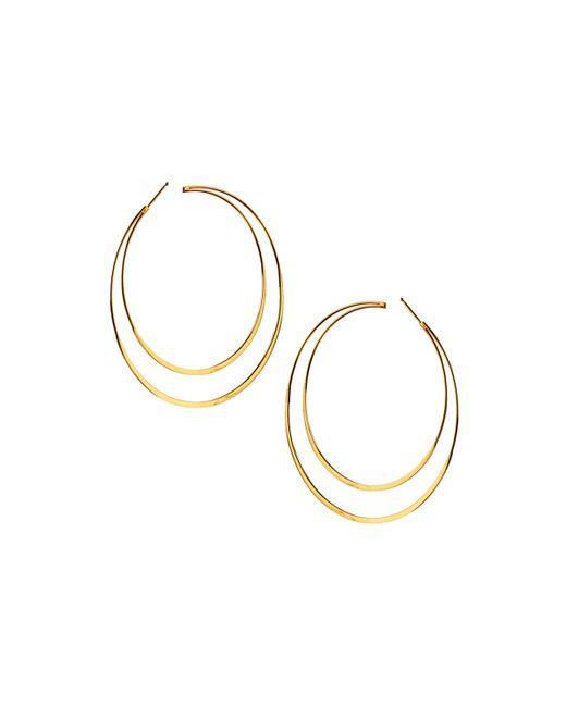 Lana Jewelry | Metallic 14k Elite Double Hoop Earrings | Lyst