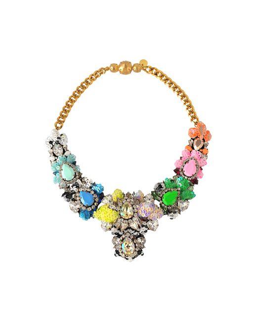 Shourouk | Metallic Exclusive Apolonia Sequins Necklace | Lyst