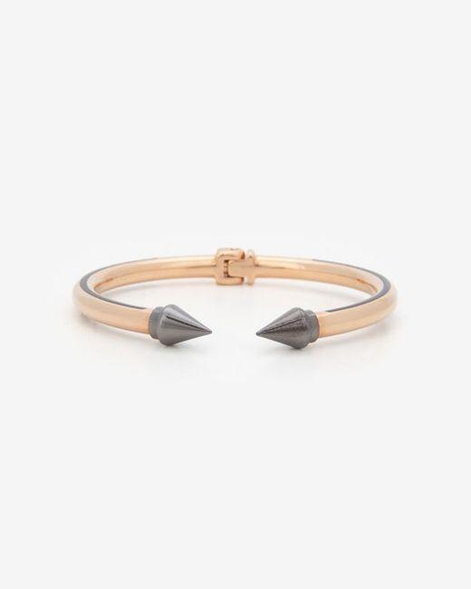 Vita Fede | Metallic Mini Titan Two Tone Bracelet Rosegoldgunmetal | Lyst