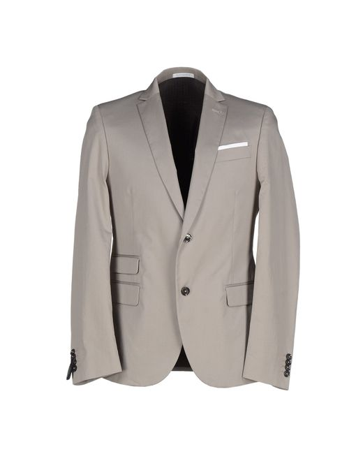 Grey Daniele Alessandrini | Gray Blazer for Men | Lyst
