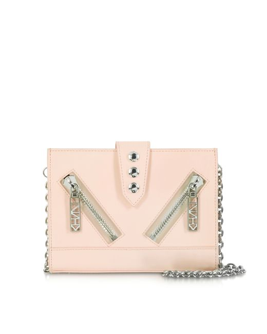 KENZO | Pink Kalifornia Leather Shoulder Bag | Lyst