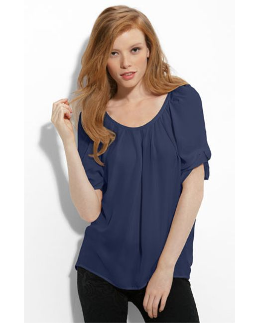 Joie | Blue 'eleanor' Top | Lyst