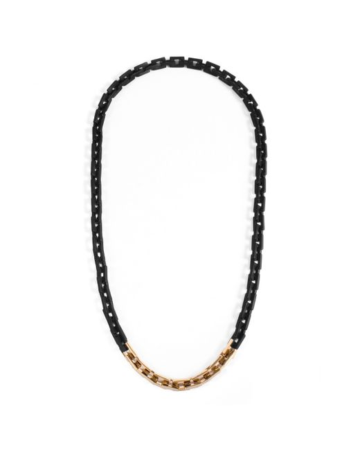 Lulu Frost | Black George Frost 75/25 Necklace for Men | Lyst
