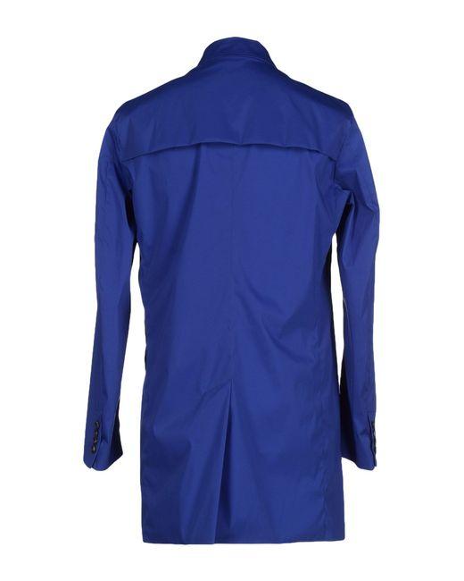 Obvious Basic   Blue Full-length Jacket for Men   Lyst