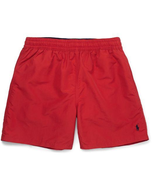 Polo Ralph Lauren | Red Hawaiian Mid-length Swim Shorts for Men | Lyst